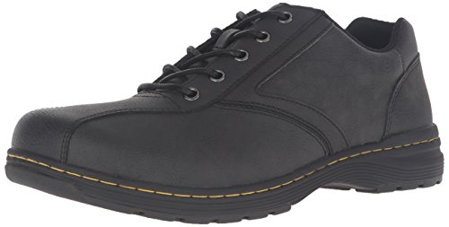 Dr.Martens Mens Greig Vancouver Leather Shoes Black