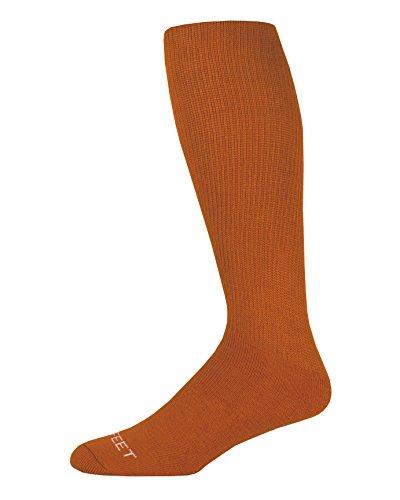 - Pro Feet Multi-Sport Cushioned Acrylic Tube Socks, Texas Orange, Small/Size 7-9