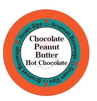 Shrewd Sips, Chocolate Peanut Butter Hot Chocolate, for Keurig K-cup Brewers, 24 Count