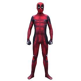 - 41D 8jQRAaL - Pizone Unisex Spandex Zentai Halloween Onesie Fullbody Elastic Bodysuit Adult/Kids