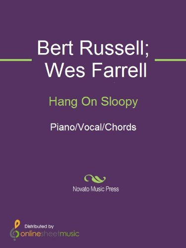 Hang On Sloopy Kindle Edition By Bert Russell Ramsey Lewis The