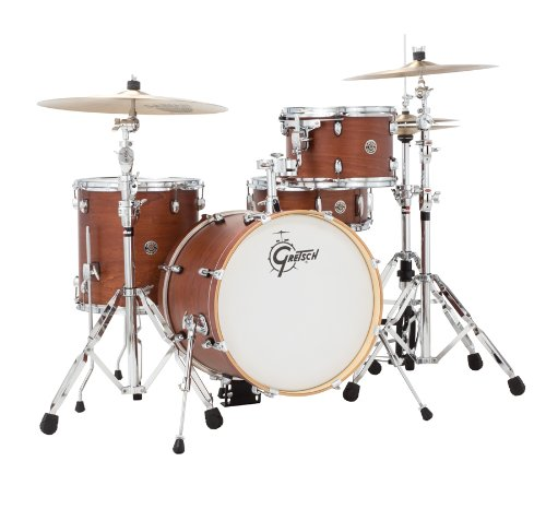 Gretsch CT1J484SWG 2014 Catalina Club Jazz 4-Piece Shell Pack – Satin Walnut Glaze