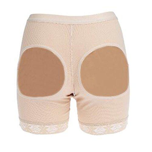 Up Body Glutei Calze Push Dona Slip Modellante Imbottite Mutande Bianca Body Control Snellente Control wTzY8qX