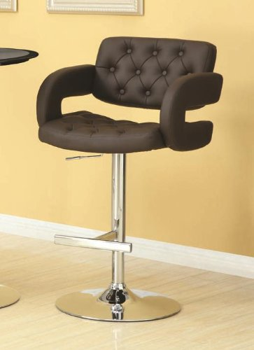Coaster Contemporary Adjustable Leather Upholstered