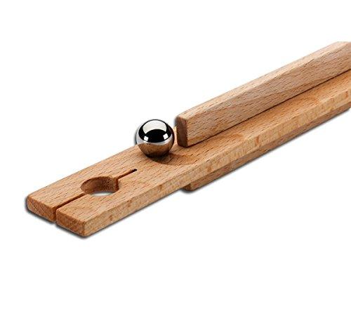 Pedalo® Kugelfuhr aus Holz - Konzentrations- und Geschicklichkeitsspiel für die Hand-Augen-Koordination