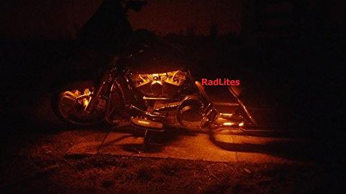 orange motorcycle led lights - 6