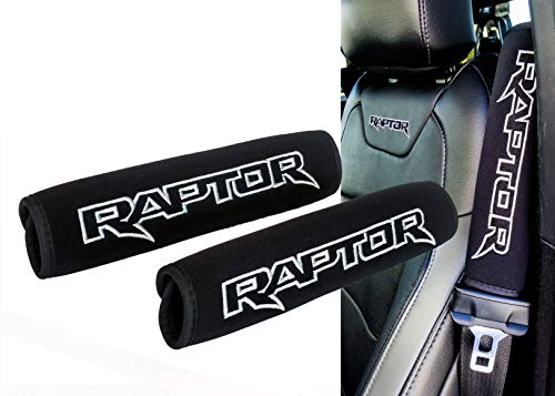 OZ-USA Set of 2 Raptor Logo for Ford F-150 Black