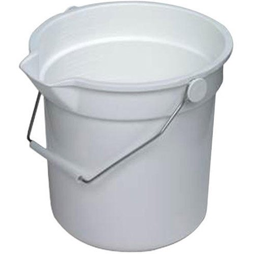 Continental Grey Plastic Huskee Bucket, 14 Quart - 1 each.