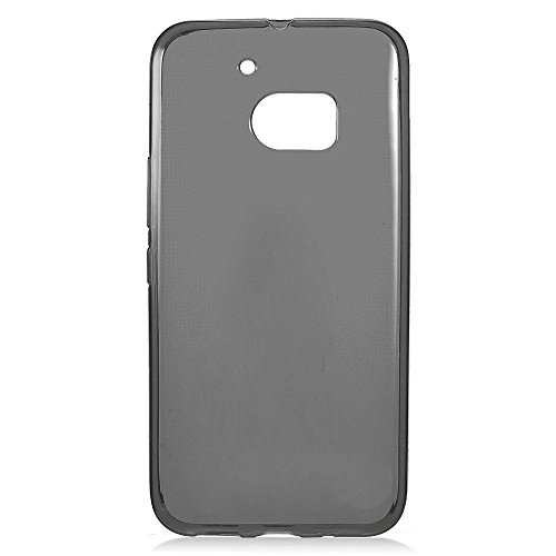 Candy Skin Case Cover - HTC One M10 Case, Eagle Cell Frosted TPU Rubber Candy Skin Case Cover For HTC One M10, Black