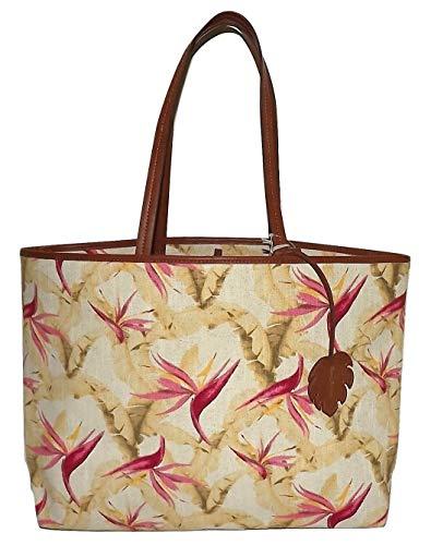 Tommy Bahama Destin Birds of Paradise Top Handle Shoulder Tote/Bag