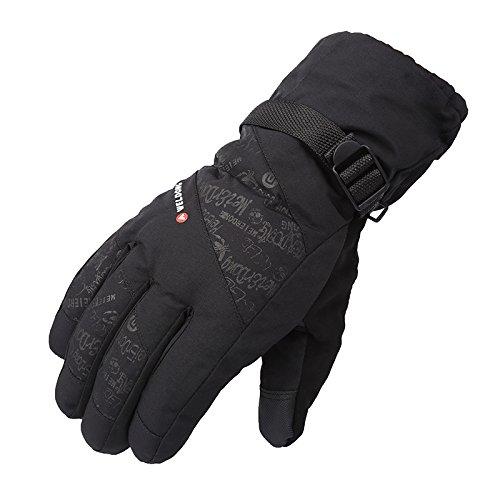 UKEE Ski Gloves, Waterproof and Windproof Winter Snow Gloves Ski, Snowboard, Motorcycle, Bike, Ski Gloves for Men and Women