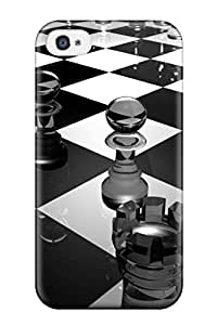 New Arrival 3d Chess Board For Iphone 4/4s Case Cover