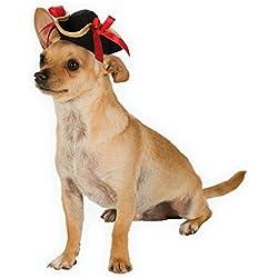 Rubie's Costume 886856-S-M Co Pirate Girl Hat Pet Costume Accessory, Small/Medium