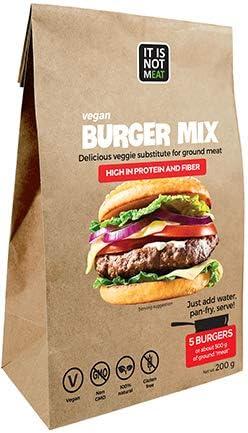 Mezcla de Hamburguesas Veganas Instantánea Perfecto para ...