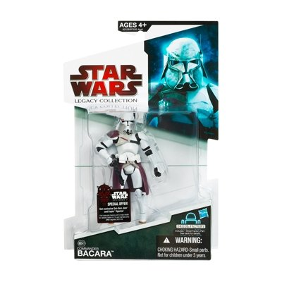 Commander Bacara BD47 Star Wars Legacy Collection Action Figure