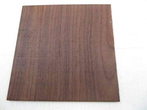 1 Pc of Rosewood Guitar Rosette Square blanks 6'' x 6'' x 3mm