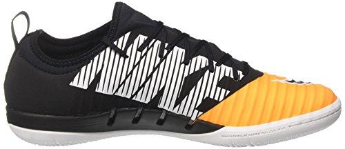 Nike MercurialX Finale II IC Hallenfußballschuh (Laser Orange, Schwarz)