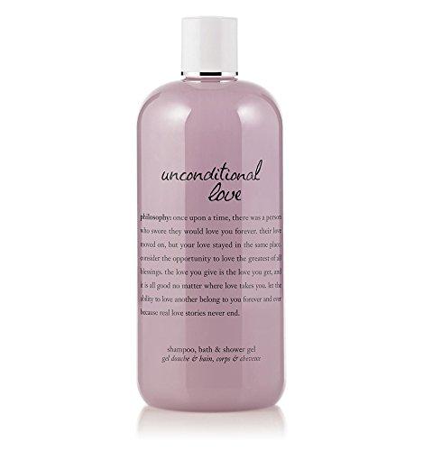 Philosophy Unconditional Love Shampoo, Bath and Shower Gel, 16 Ounce