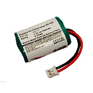 ZZcell Battery For SportDog 650-058 / DC-17 / SD-800 KINETIC MH120AAAL4GC Dogtra FieldTrainer SD-400, SD-800 Receiver SD-400S, WetlandHunter Camo Dog Collar 150mAh