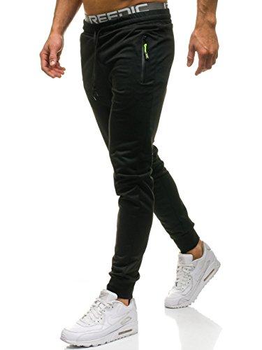 Motivo Fitness Entrenamiento Deporte Hombre jx9278 Mix Jogger Pantalones BOLF 6F6 Negro YqaPCwf