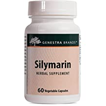 Genestra Brands - Silymarin - Herbal Formula to Support Liver Function and Digestive System* - 60 Vegetable Capsules