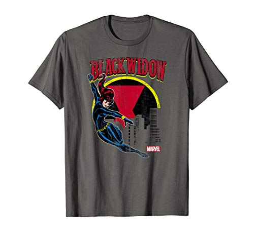 Black Widow Web Slinger Graphic T-Shirt -