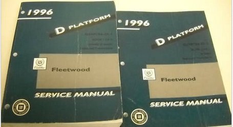 1996 CADILLAC FLEETWOOD Service Repair Shop Manual Set DEALERSHIP FACTORY OEM