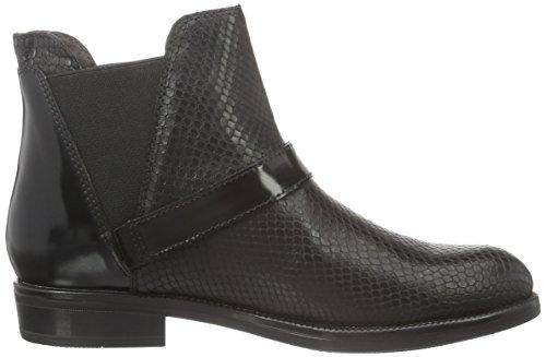 Stonefly Damen Clyde 16 Chelsea Boots Schwarz (Nero-Black 000)