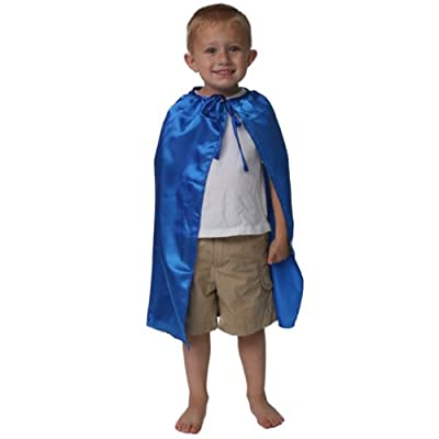 "Satin Blue 20"" Cape: Toys & Games"