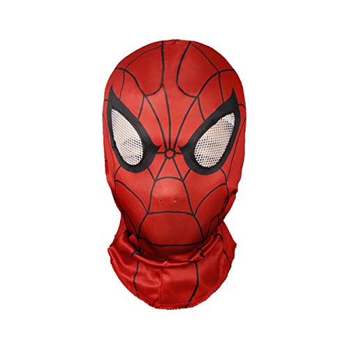 Waylike Spiderman Mask Halloween Mask for Any Party Spiderman Costumes Red