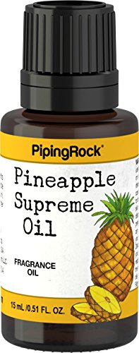 Piping Rock Pineapple Supreme Fragrance Oil 1/2 oz (15 ml) Dropper - Glasses J Without Juicy