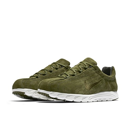 Nike-Zapatillas MayflyLeather Prim (Verde), Talla 40