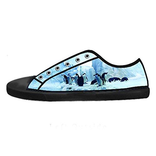 Delle Tetto Custom Women's Da Shoes Pinguino Lacci I Alto Canvas Ginnastica Scarpe YYnPAx