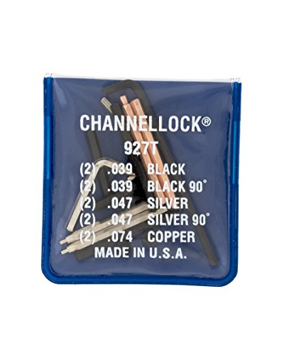Channellock 927T Universal Tip Kit, 5-Tips