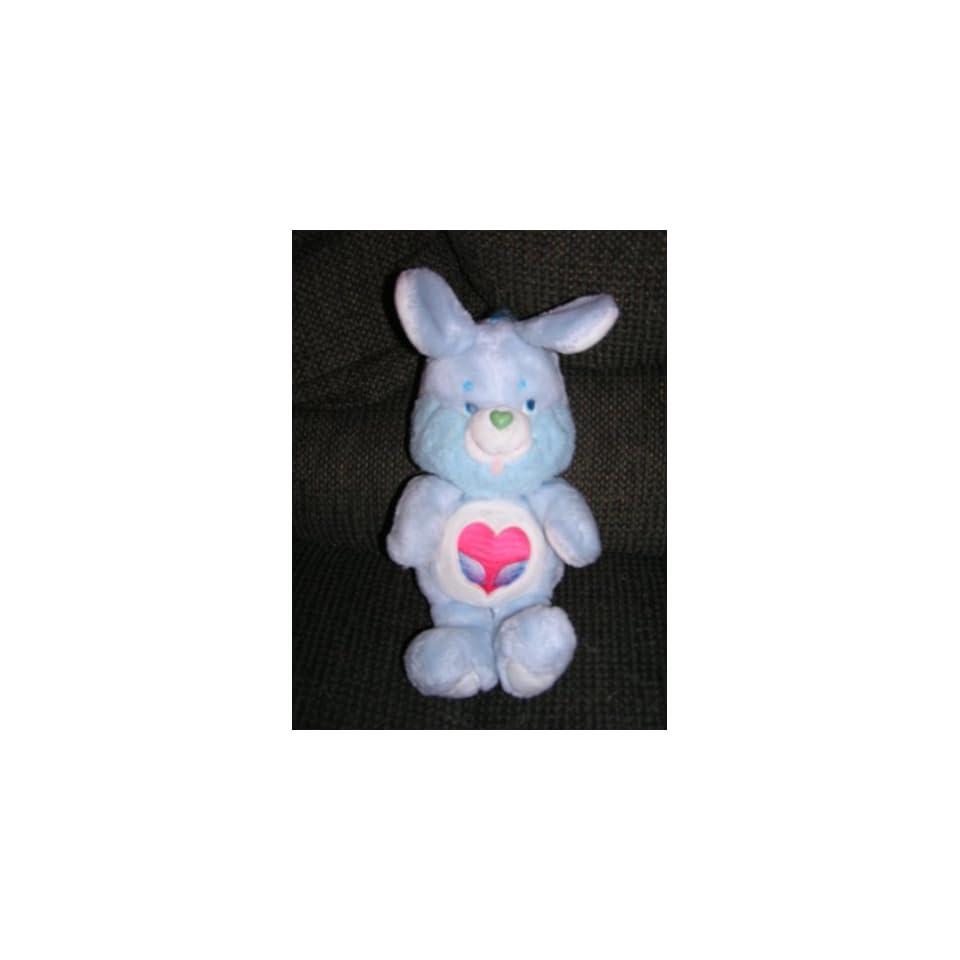 Vintage Care Bears Cousin 13 Plush Swift Heart Rabbit from 1984
