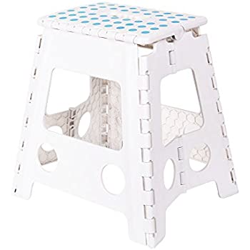 KARMAS PRODUCT Super Strong Folding Step Stool 15 In Portable Carrying Handle for Adults and Kids  sc 1 st  Amazon.com & Amazon.com: KARMAS PRODUCT Super Strong Folding Step Stool-15 In ... islam-shia.org