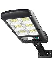 120-LEDs Bracket Street Light Solar Garden Light Sensor Courtyard Lamp LED Lighting Tool for Outside Outdoor Daily Use