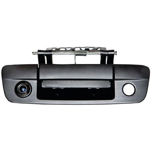 (CRIMESTOPPER SV-6834.CHR 170¡ã CMOS Tailgate Handle Color Camera for Dodge(R) Ram (Black) (SV-6834.CHR))