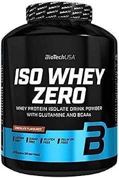 Biotech USA Iso Whey Zero - 2,27 kg Cookies and Cream: Amazon ...