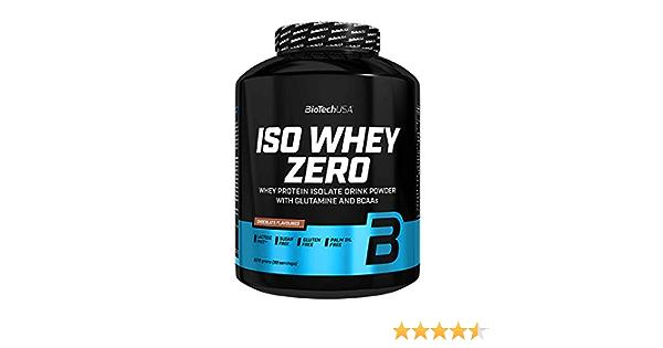 Biotech USA Iso Whey Zero - 2,27 kg Hazelnut