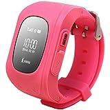 Kiddy Watch 60003 Smartwatch mit GPS Lokalisierung OLED rosa