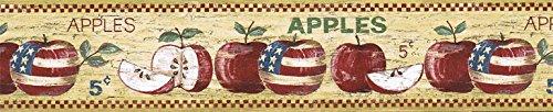 (Apple Fruits Wallpaper Border HIC0001)