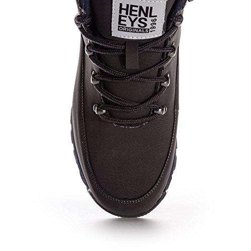 Henley Chaussures De Marche Et De Randonnée Pour Hommes, Gris