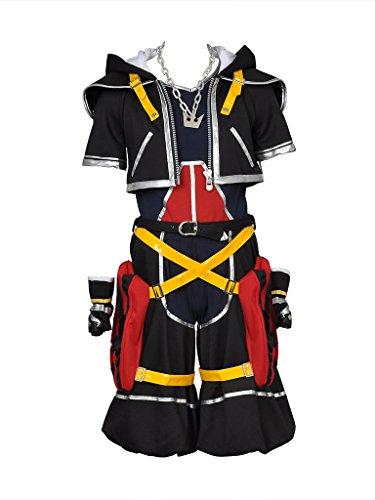(CosFantasy Kingdom Hearts Sora 1th ver Cosplay Costume mp000263)