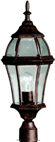 Kichler 9992TZ One Light Outdoor Post Mount
