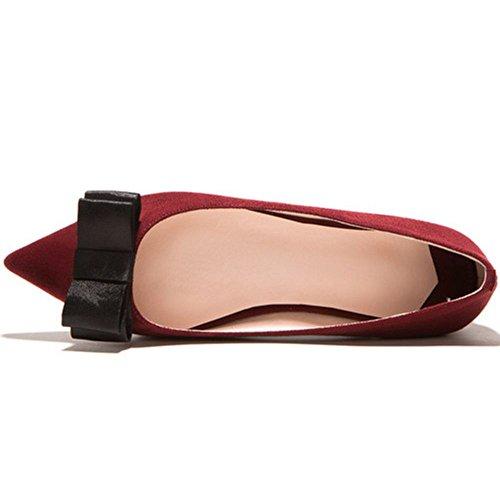 Vulusvalas Chaussures Sans Fermoir Femme Claret rnCv4xrz