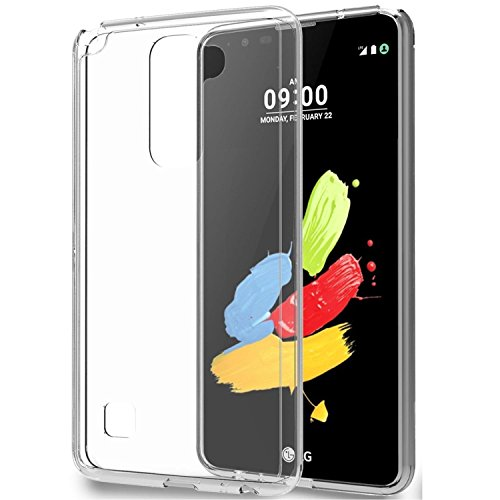 LG Stylus 2 plus Case , Vinve Soft Tpu Case Ultra Slim Clear Rubber Soft Skin Silicone Cover For LG Stylus 2 plus - Clear Stylus Phone Case