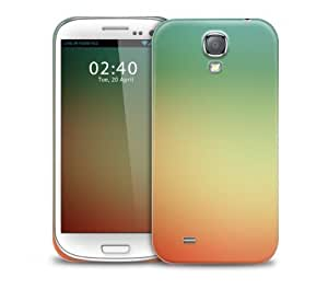Green & Orange Gradient Samsung Galaxy S4 GS4 protective phone case