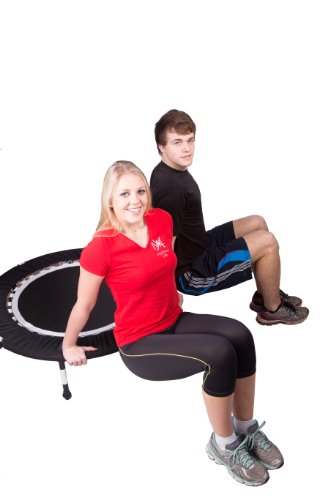 MaXimus Pro Quarter Folding Mini Trampoline Includes DVD Bar Bag Bands Weights by MXL MaXimus Life (Image #6)