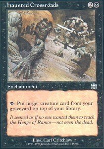 (Magic: the Gathering - Haunted Crossroads - Mercadian Masques)